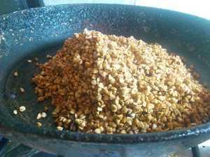 обжариваем гречку для каши гречневой с куриной грудкой
